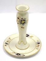 Zsolnay búzavirágos gyertyatartó (ZAL-R68883)
