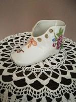 Herendi porcelán kis cipő!