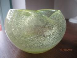 Különlegesen szép forma és színvilágú Karcagi üveg