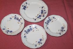 Zsolnay búzavirágos tányérok