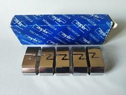 5x Zepter design acé szalvétagyűrű 1990es évek