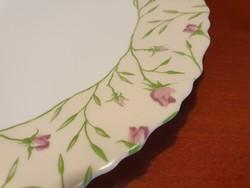Francia LUMINARC arcopal tányér rózsákkal