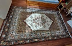 Kézi csomózású XX. századi szőnyeg Tunéziából