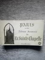 Képeslap (Párizs, Szent Chapelle)