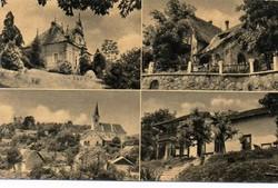 """*C"""" - 048 Futott magyarországi képeslapok  Nógrádverőce - részletek  (eredeti 60 filléres)"""