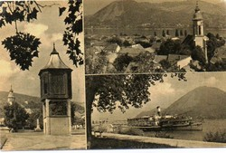 *B - 018  Posta tiszta Magyarország:  Nagymaros - részletek  (eredeti 60 filléres)
