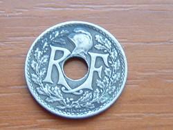 FRANCIA 10 CENTIMES 1923 c. + torch 75% réz, 25% nikkel #