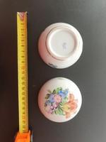 Antik Herendi Bonbonier cca 8 cm porcelán