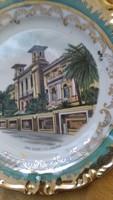 San Reno Casino dús aranyozott tányér