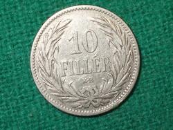 10 Fillér 1894 !