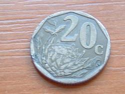 DÉL AFRIKA 20 CENT 1996 Cukorcserje Protea #