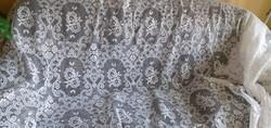 4,5 x 2,70 cm-es szép, fehér függöny a Nagyi hagyatékából eladó