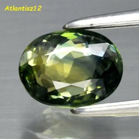 Queen of sapphires from Australia! 100% Term. Yellowish green sapphire gemstone 1.13ct (vvs)! 339.000, -Ft