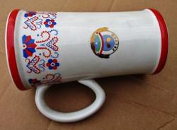 Szép régi Hollóházi porcelán kupa
