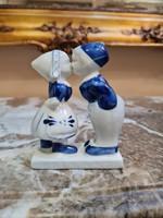 Holland szerelmes pár porcelán