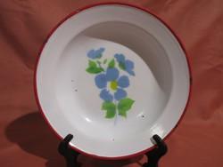 Bonyhádi zománcos tányér