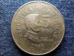 Fülöp-szigetek Emilio Aguinaldo 5 peso 2013 BSP (id50743)