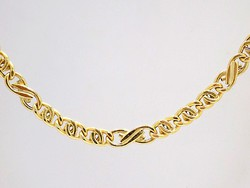 Arany scharles nyaklánc (ZAL-Au94215)