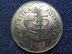 Fülöp-szigetek Emilio Aguinaldo 5 peso 2005 BSP (id49938)