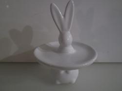 Porcelán - BONBON tartó - 10,5 x 8 cm - NÉMET - HIBÁTLAN