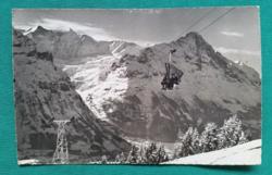 Svájc,Grindelwald,hegyi felvonó