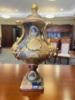 Eladó nagyméretű Gyönyörű Kínai Fedeles Váza !