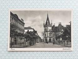Régi képeslap Kassa Jakab palota levelezőlap
