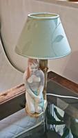 Régi,  AKT Kerámia asztali lámpa.( 1.)