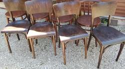 Thonet szék garnitúra,4 db
