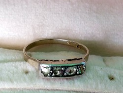 Antik arany gyűrű/gyémant