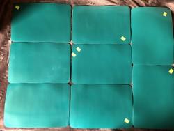 8 db zöld tányéralátét - ár / db