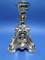 Neobarokk ezüst asztalközép