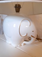 Nagyméretű elefánt lámpák párban - 59 cm magasak