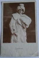 Régi képeslap - Lya Borré