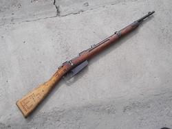 Olasz Carcano karabély, puska a II. VH-ból riasztóvá alakítva