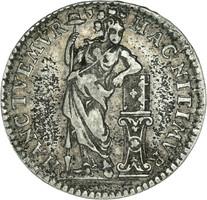 Hollandia 1/4 gulden!!RRR 1758