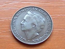HOLLANDIA 5 CENT 1948 Queen Wilhelmina Réz 90-70%, Ón 10-30% #