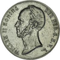 Hollandia 2 1/2 Gulden 1848