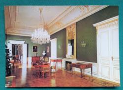 Magyarország,Keszthely,Festetics-kastély,postatiszta képeslap,1988