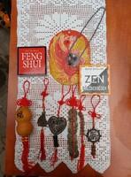 Feng shui  6 db függő+2 db könyv+selyemfőnix