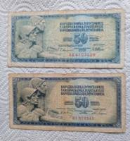 Jugoszláv  50 dínár
