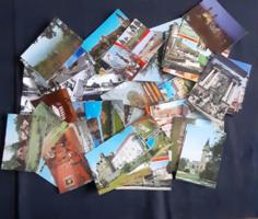 Képeslap (Magyar városok, nevezetességek 68 db)