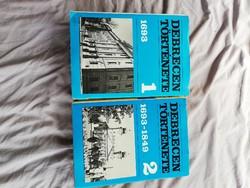DEBRECEN TÖRTÉNETE 1-2   1981-84 KIADÁS