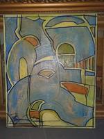 Absztrakt festmény eladó