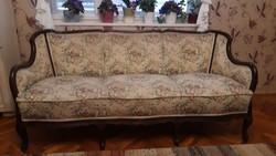 Neobarokk kanapé, szófa