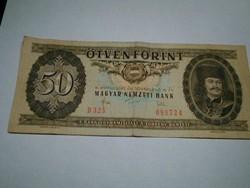 50 FORINTOS PAPIRPÉNZ 1983.NOVEMBER