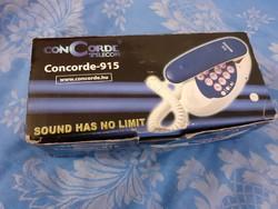 Concorde 915 telefon dobozában -  Retro eszközök és gépek