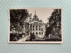 Régi képeslap Kassa Nemzeti színház levelezőlap