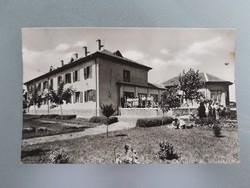 Régi képeslap 1959 Hajdúszoboszló Diósgyőri dolgozók üdülője levelezőlap