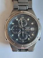 Citizen alarm chronogragh titanium WR 100